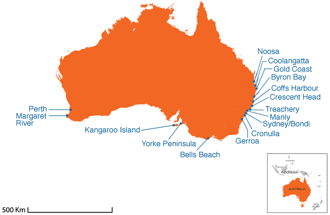 Australia - Country map image