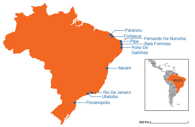 Brazil - Country map image
