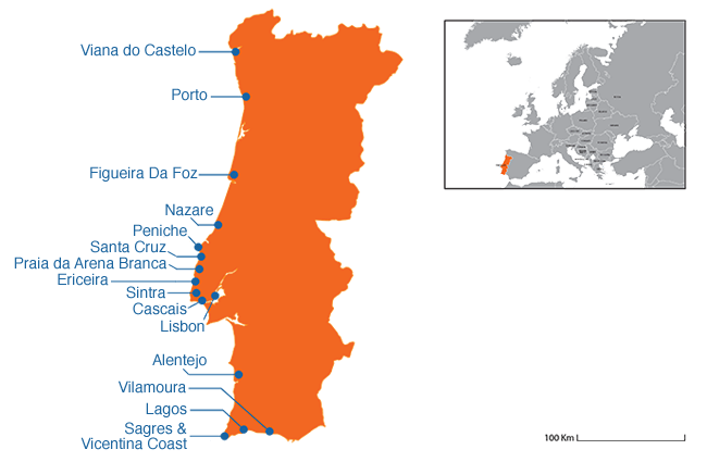 Portugal - Country map image