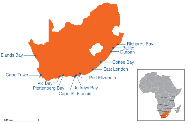 South Africa - Country map image