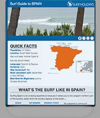 Spain Surf Guide