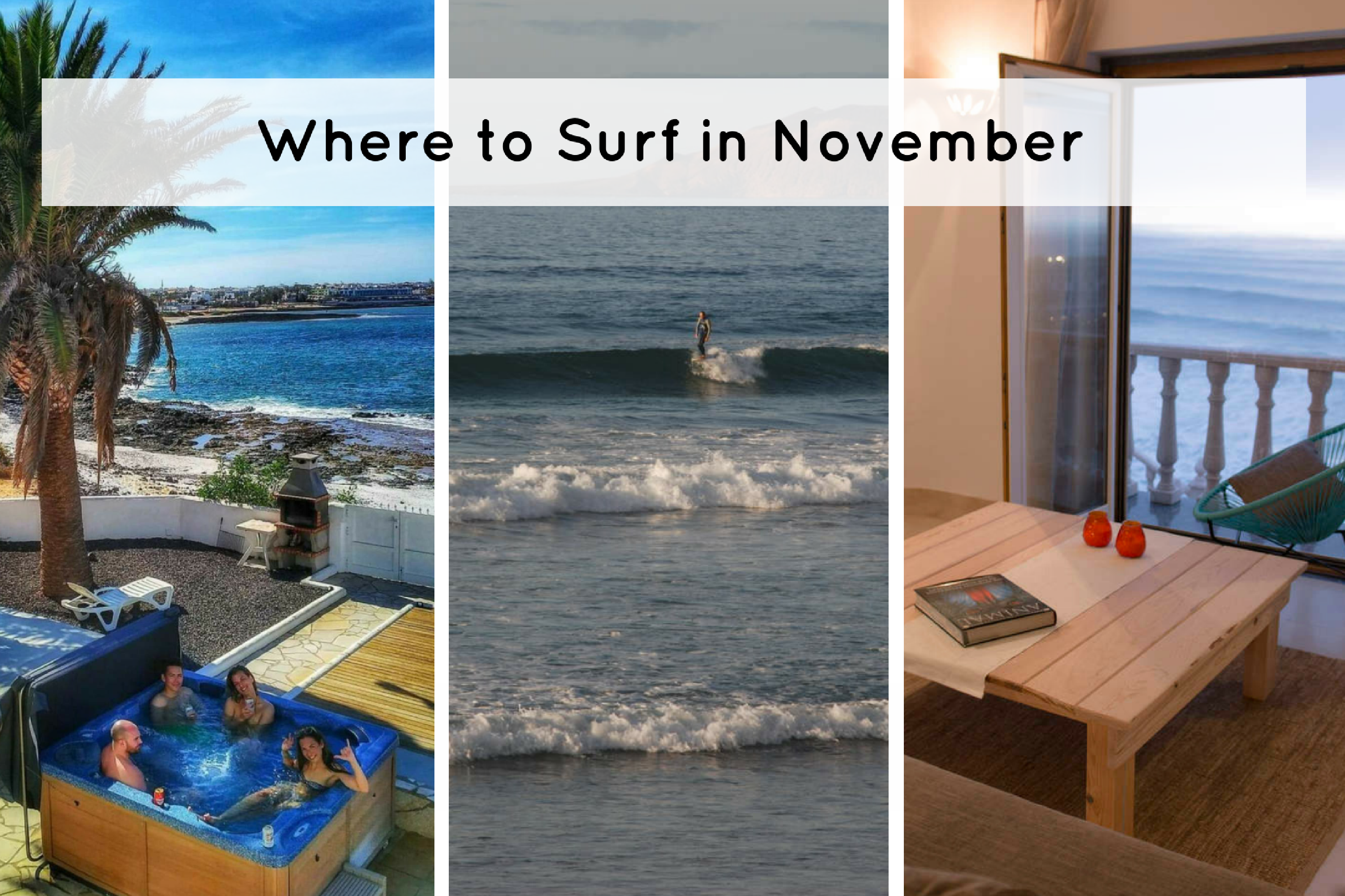 These Are The Best Places To Surf In November