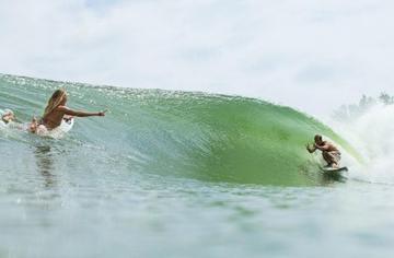 Kelly Slater opens the door to his wave pool