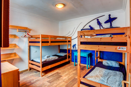 It's a shared room for up to 4 people, a great option for solo travellers who is in search of a company and like minded people