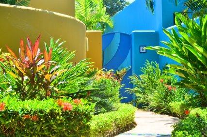 Garden Bungalow Entrance