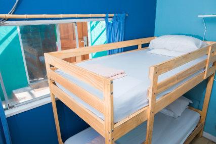 Ten bed dorm