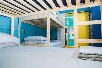 Eight bed dorm