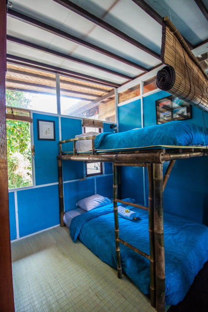 fully air-conditioned room with a private bathroom
