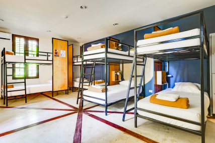 Bed in 8 Bed Community Room