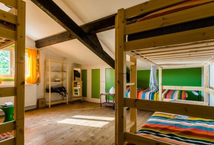 5 beds dormitory