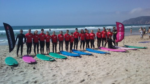 Guincho Beach. Surf class.