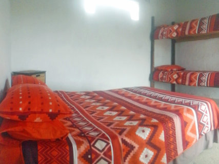 Family room with double bed, doubl