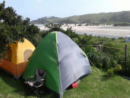 Freestyle camping with a view!