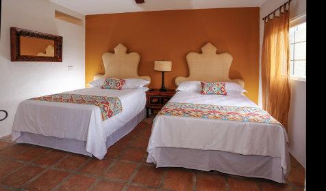 Casita double bed room