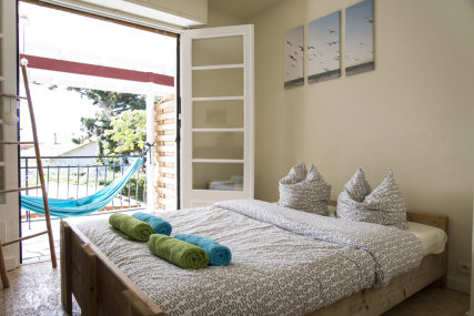 Example of double room with balcony