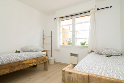 Example of double room without balcony