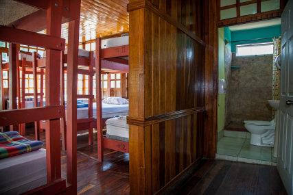 14 bed mixed dorm