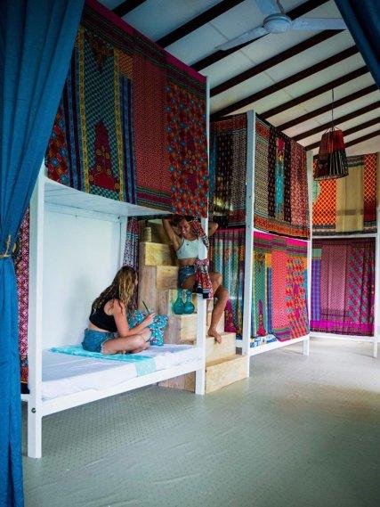 Jungle dorm room