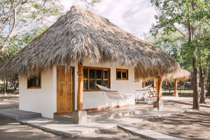 cosy oceanview bungalow for your surf vacation in Nicaragua