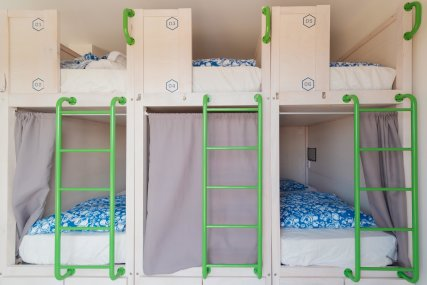 Bed in 10 Bed Mixed Dorm Ensuite