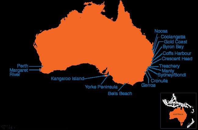 Australia - Country map image