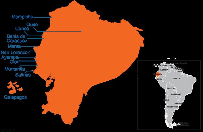Ecuador - Country map image