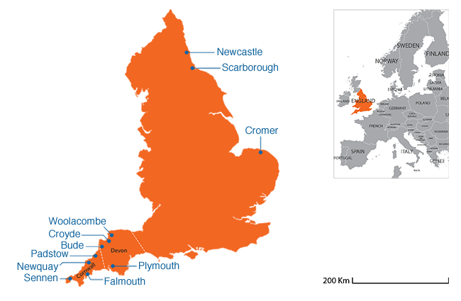 England - Country map image