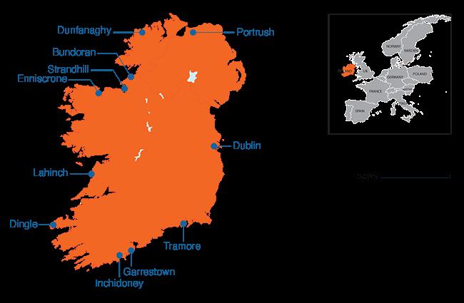 Ireland - Country map image