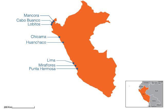 Peru - Country map image