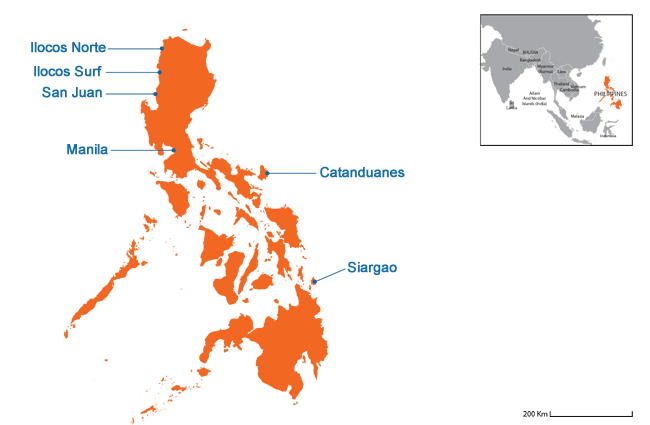 Philippines - Country map image