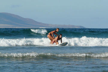 What are the waves like in Lanzarote?