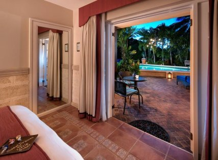 Poolside Deluxe with Partial Ocean View