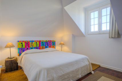 Beautiful room with a double bed, and an extra bed. Just perfect to have some privacy!