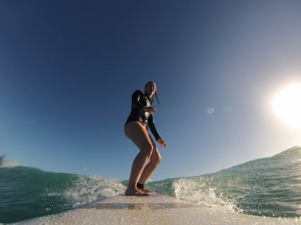 GoPros are used to catch all the action up close