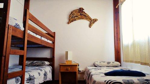 Triple private room