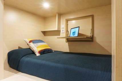 Shared Room for 4 Persons with Shared Bathroom