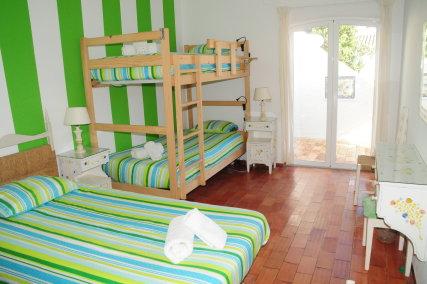 Triple room (Green room)