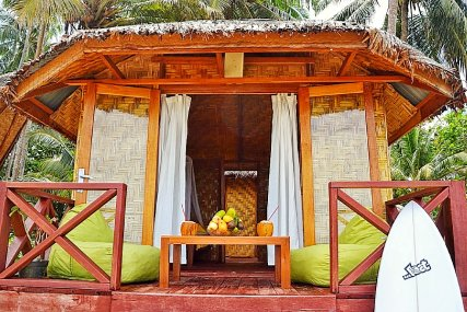 Every cabana has it's own veranda to chill and relax!