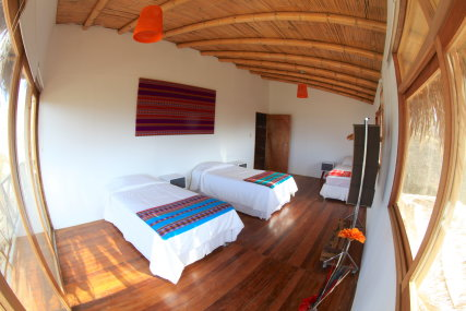 Comfortable bedrooms, ideal to rest after a day in the water
